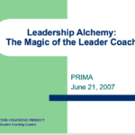 Leader Coaching Overview
